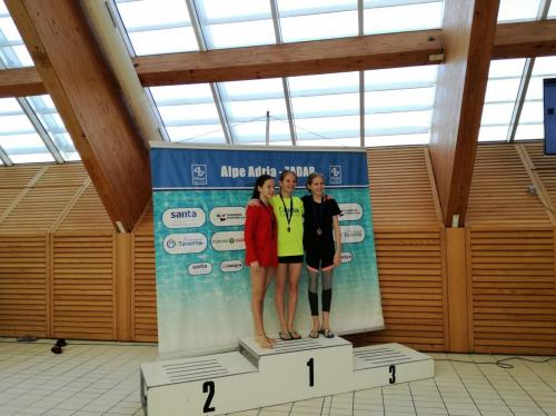 Hnatyszyn Vanda bronzérmes B lány 1 méteren