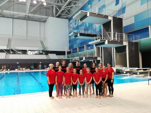 A Rugólábas csapat az Országos Bajnokságon