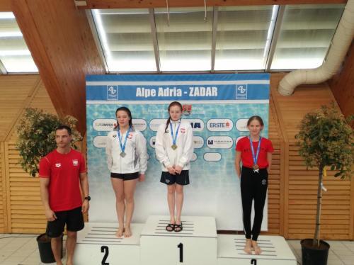 Hnyatyszyn Vanda 'A' lány   1 méteren bronzérmes