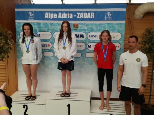 Hnatyszyn Vanda 'A' lány 3 méteren is bronzérmes
