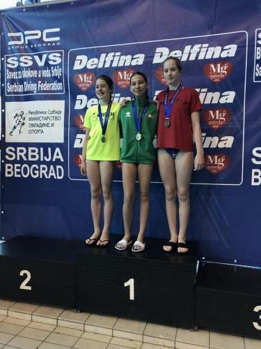 Gyovai Panni bronzérmes C lány 3 méteren