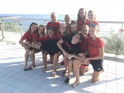 A csapat megünnepelte Hunyady Manó utolsó ifjúsági korú nemzetközi versenyét, hiszen jövőre a felnőtt korosztályba fog lépni! Szép volt Manó!